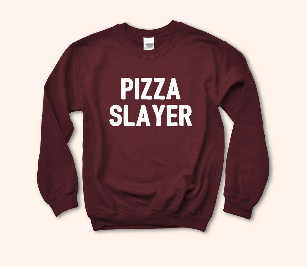 Pizza Slayer Sweatshirt - HighCiti