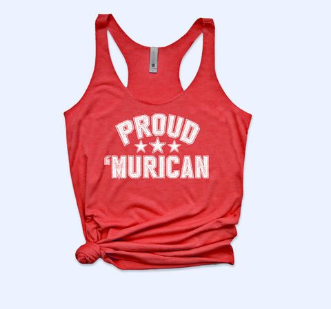 Proud Murican Sweatshirt - HighCiti