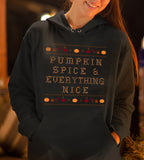 Pumpkin Spice And Everything Nice Hoodie