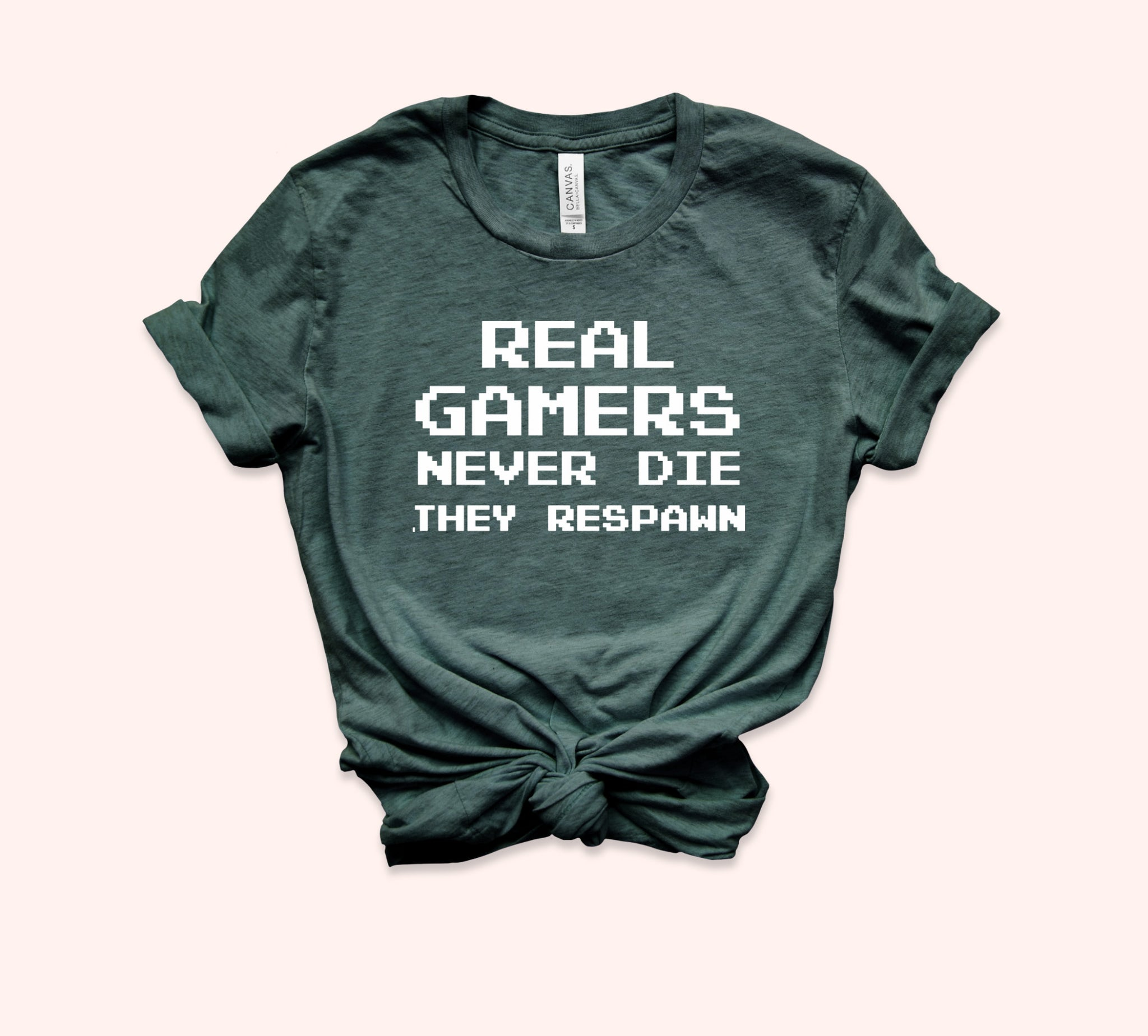 Real Gamers Never Die They Respawn Shirt