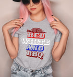 Red White And BBQ Shirt