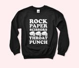 Rock Paper Scissors Sweatshirt