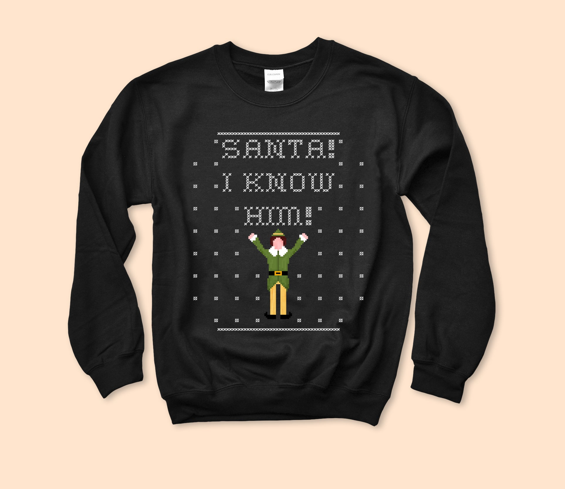 Santa I Know Him Sweatshirt