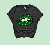 Shamrock Lips Shirt