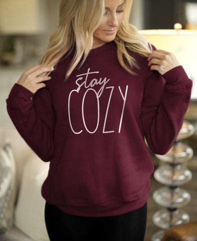 Stay Cozy Sweatshirt - HighCiti