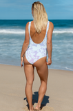 Tie-dye swimsuit that says summer vibes - HighCiti