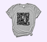 Sundays Are For Game Of Thrones Shirt