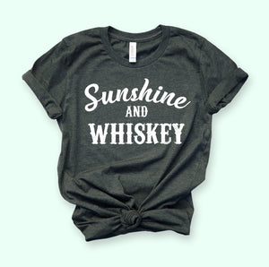 Sunshine And Whiskey Shirt - HighCiti