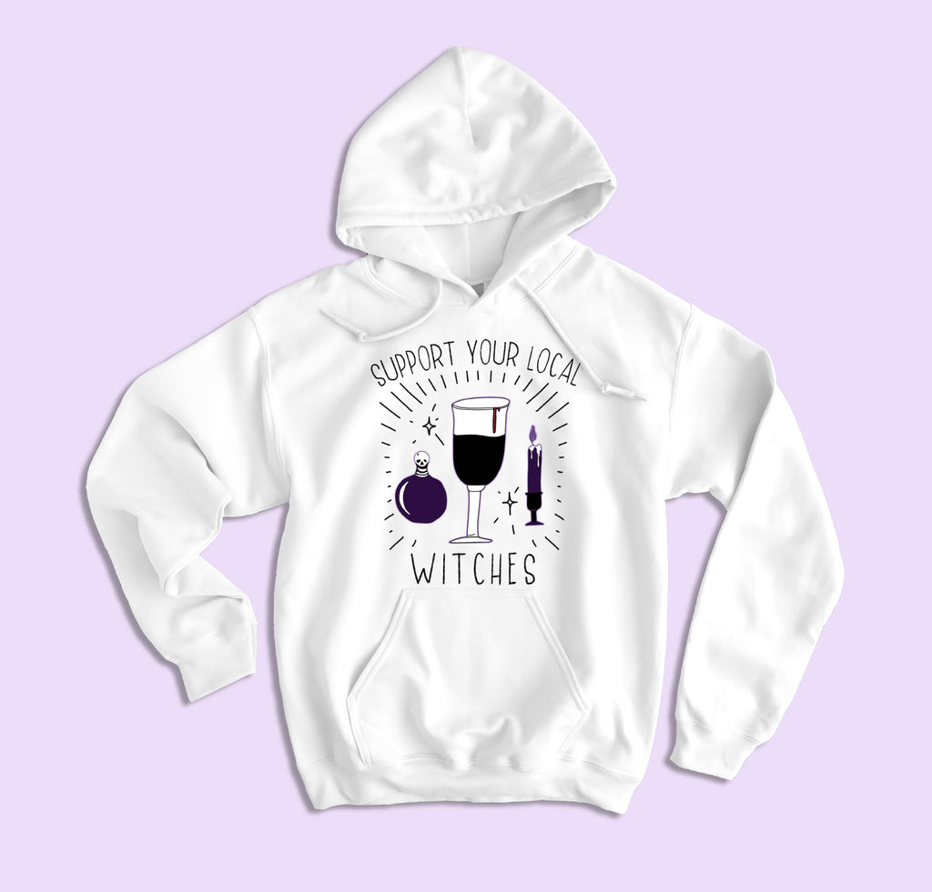 Support Your Local Witches Hoodie - HighCiti