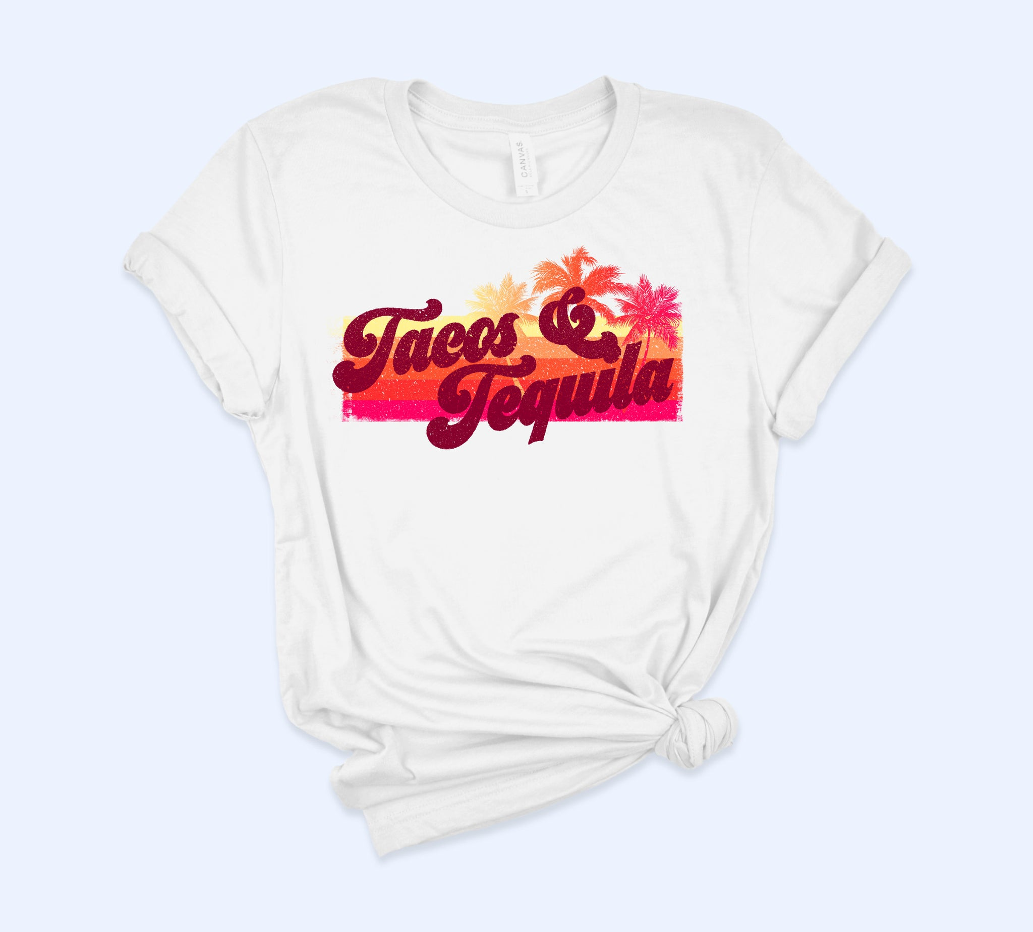 Tacos And Tequila Vintage Shirt