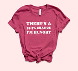 There Is 99% Chance I'm Hungry Shirt