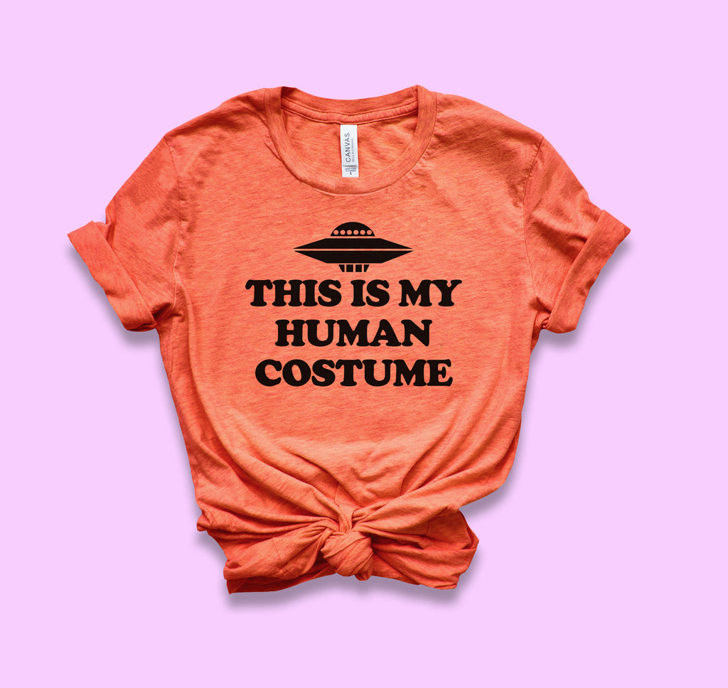 This Is My Human Costume Shirt - HighCiti