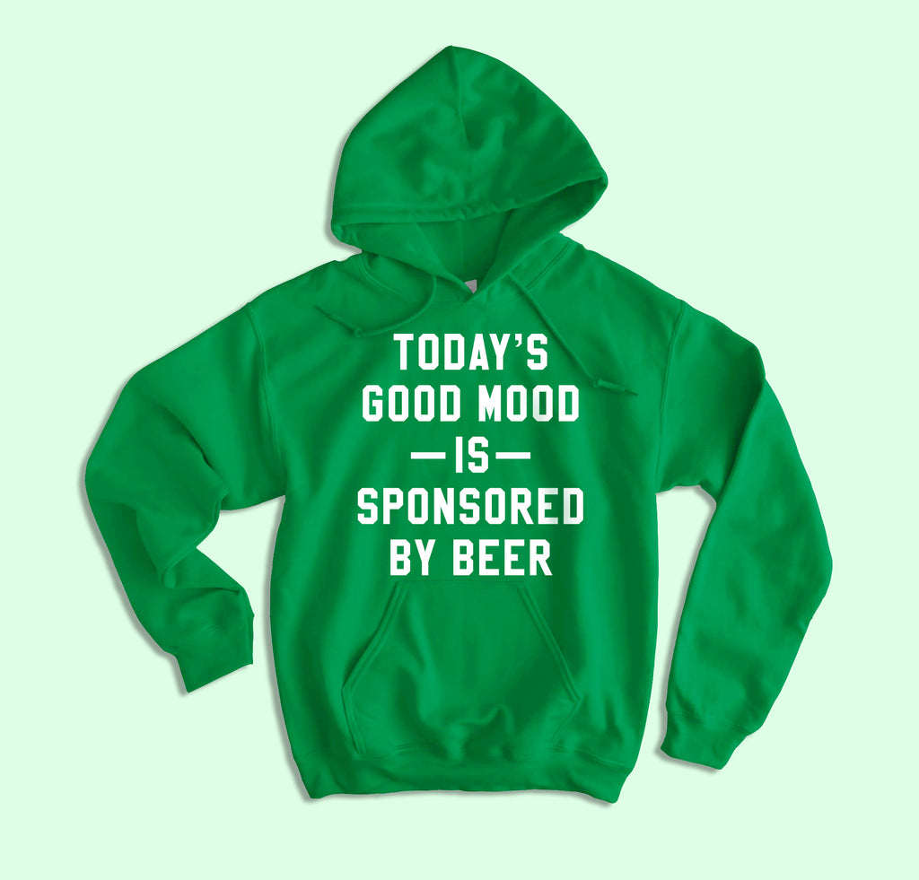 Mood Sponsored By Beer Hoodie - HighCiti