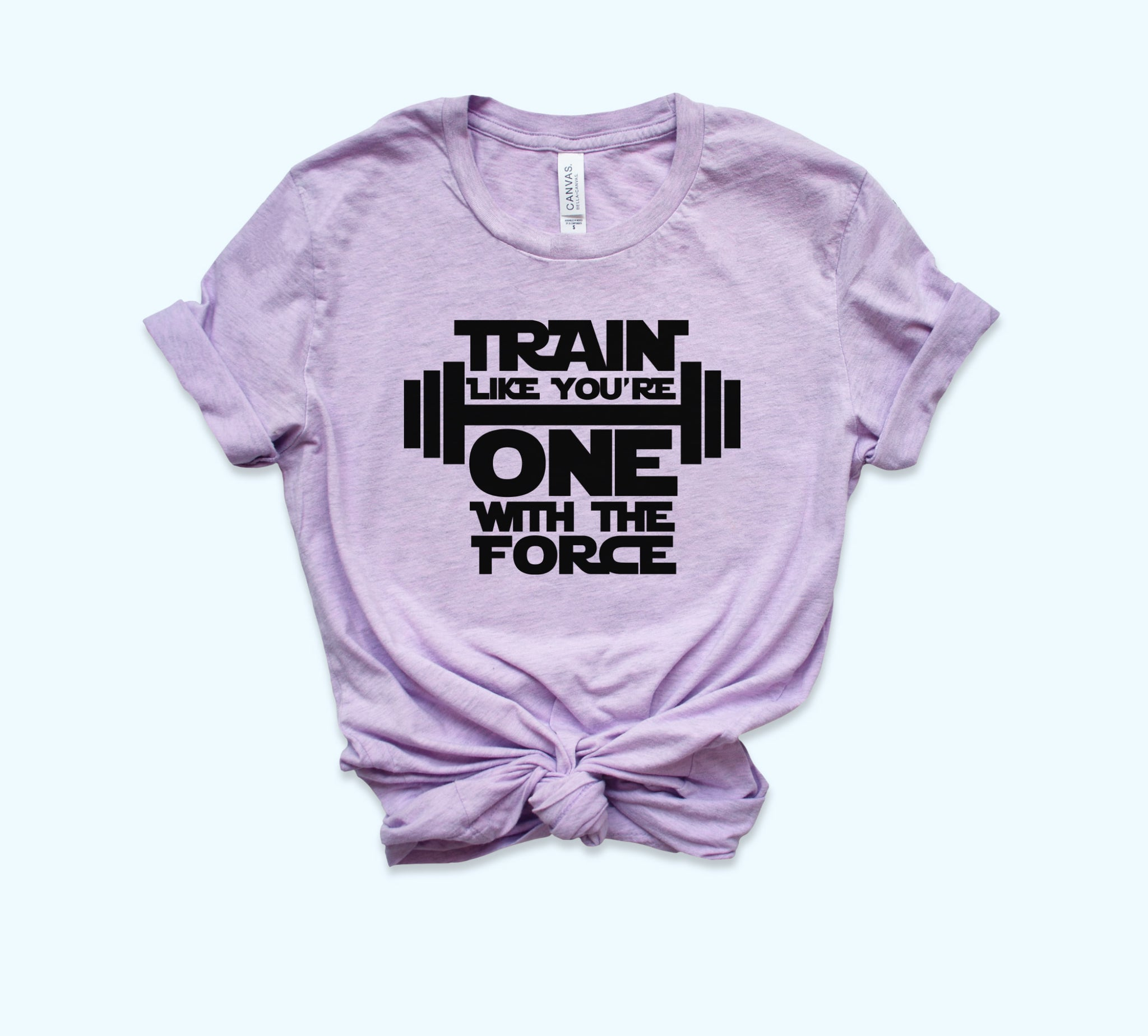 Train Like You're One With The Force Shirt