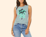 Tropic Like It's Hot Muscle Tank
