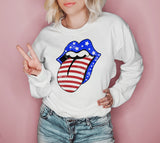 Usa Lips Sweatshirt