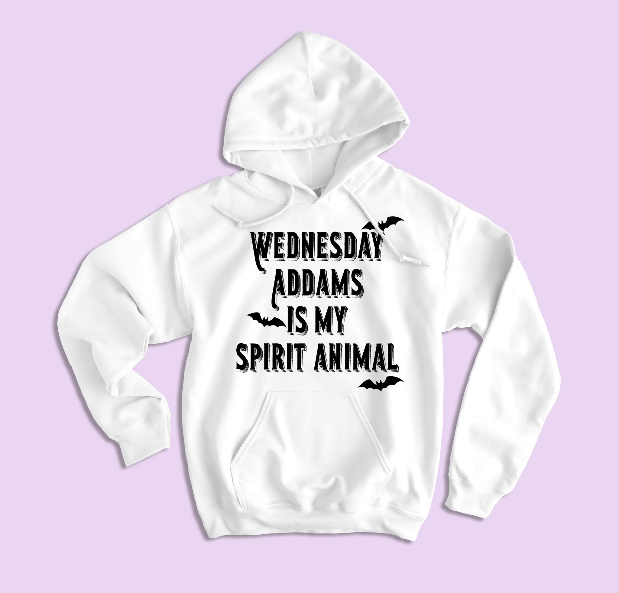 Wednesday Addams Is My Spirit Animal Hoodie