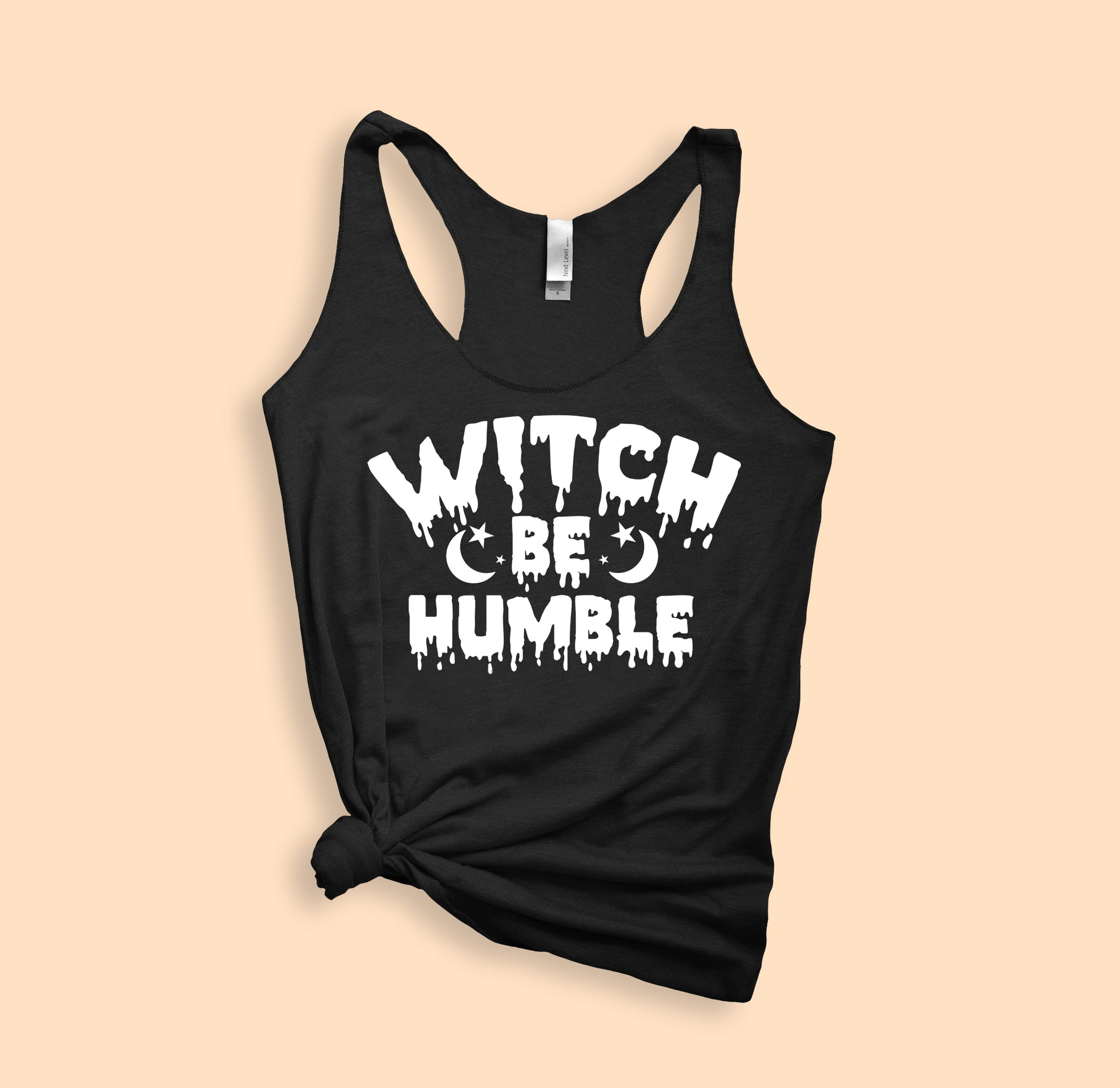 Witch Be Humble Tank