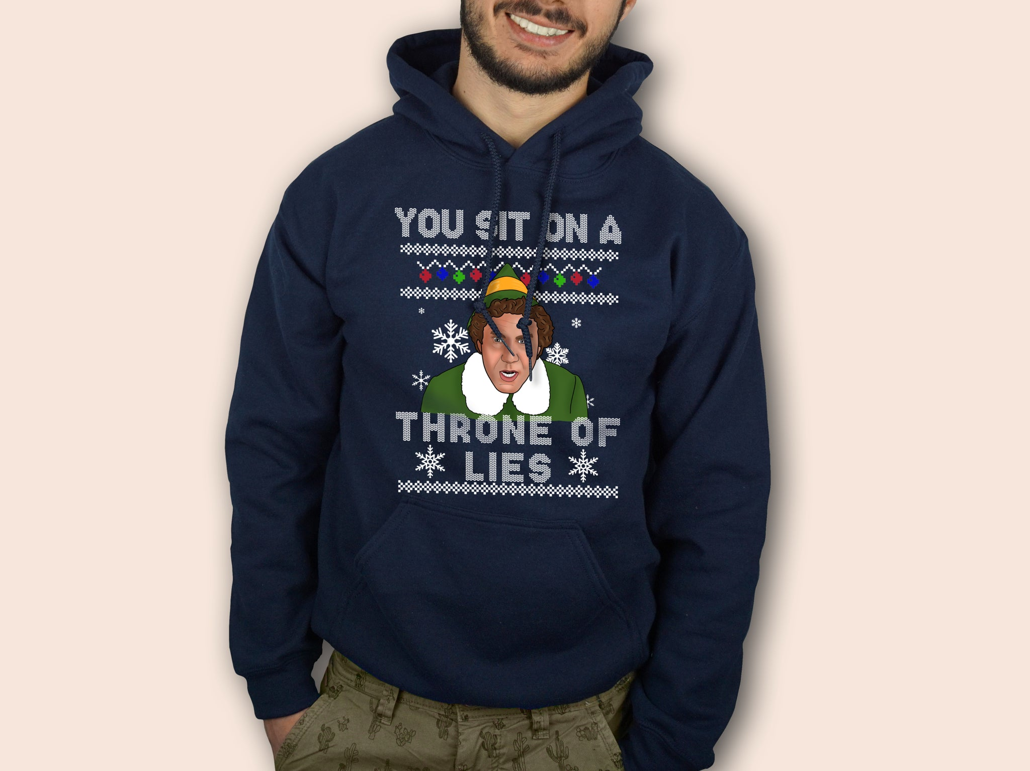 You Sit On A Throne Of Lies Hoodie
