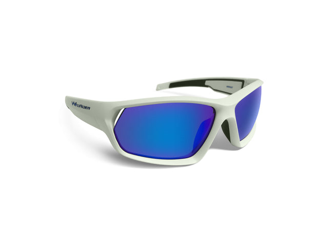 - WindRider Polarized Floating Sunglasses - WindRider White Blue Mirror