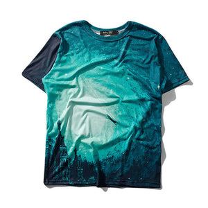 Aelfric Eden Starry Sea Mixing Creative Print T-shirt