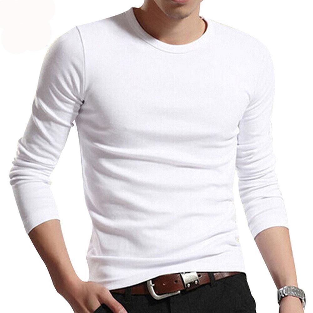 Men Solid T-Shirts 2018 New Fashion