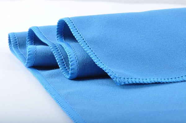 solid construction of microfiber cloth