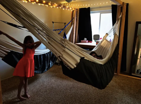 Hammock bedroom