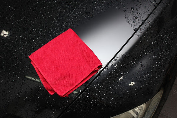 microfiber towel for car detailing