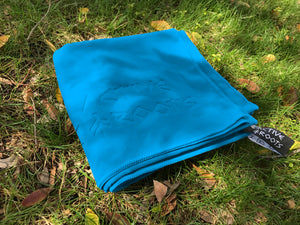 Active Roots Microfiber Travel Towel - Active Roots Blue XL Microfiber Towel