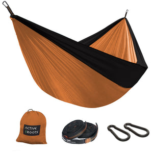 Orange/Black Hammock - Active Roots Blue XL Microfiber Towel