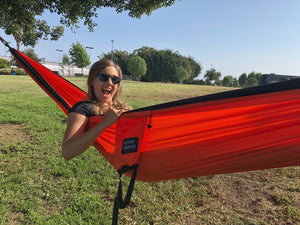 Orange/Black Hammock