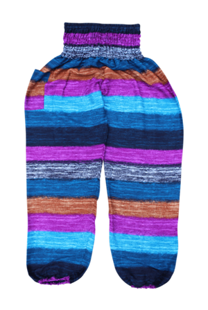 Pastel Stripe Harem Pants