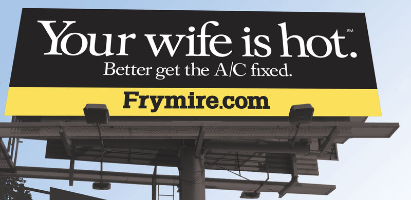 Your Wife Is Hot Billboard