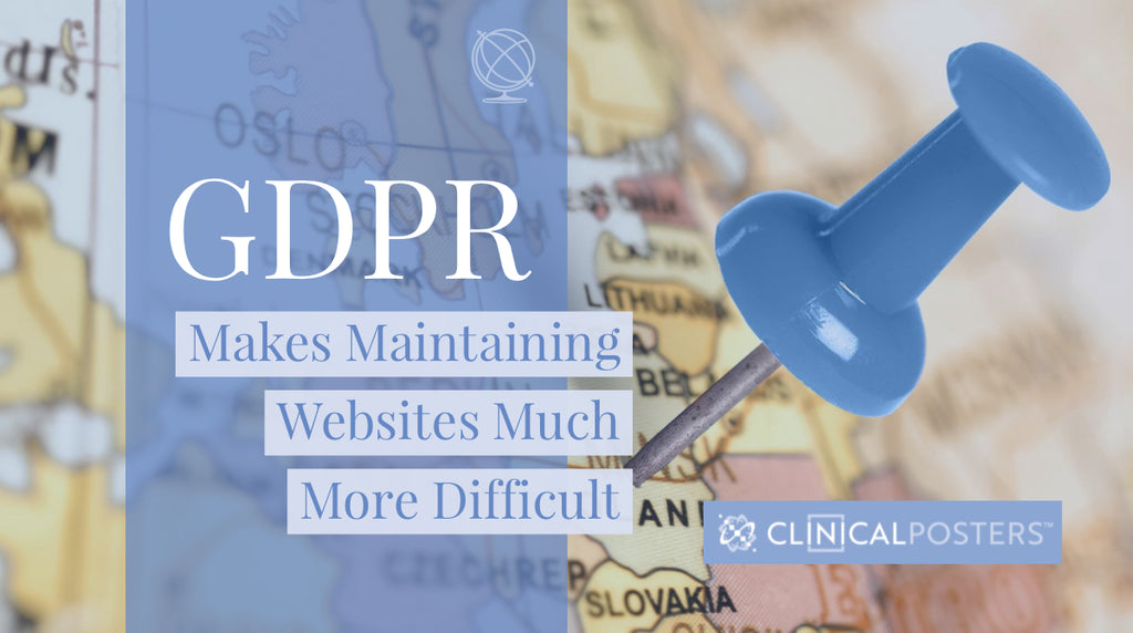 GDPR Makes Maintaining Websites More Difficult