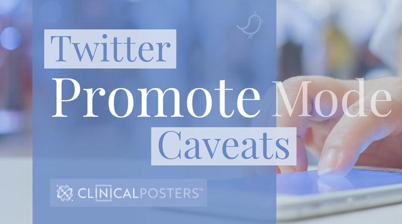 Twitter Promote Mode Caveats