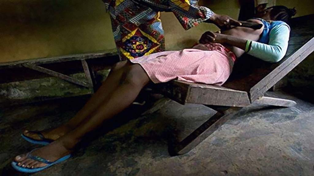 Breast Ironing Teen