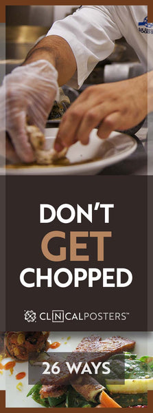 Avoid Getting Chopped At Home
