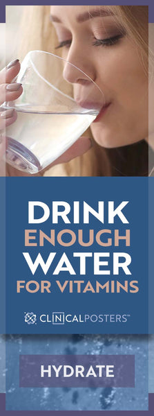 Are You Drinking Enough Water With Your Vitamins?