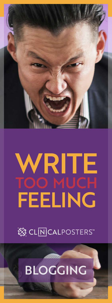 Write With Too Much Feeling