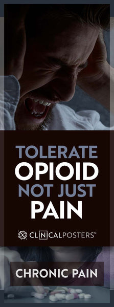 Tolerate Opioid Not Just Pain