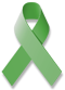 Green Mental Health Awareness Ribbon