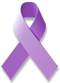 Irritable Bowel Syndrome Awareness ribbon