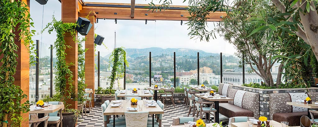 Highlight Room Hollywood Rooftop Dining