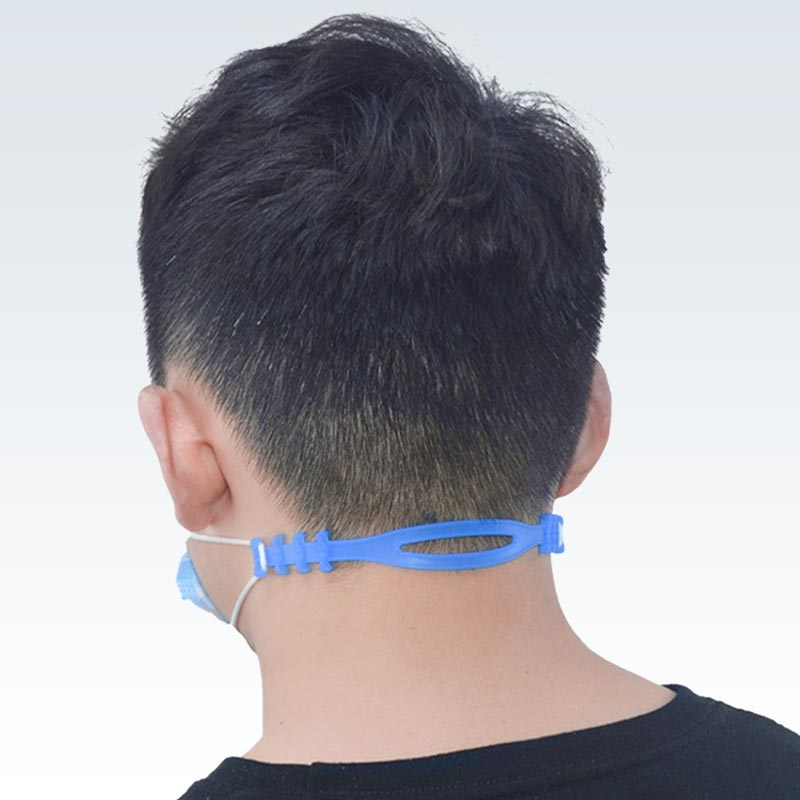 Wearing Ear-Saving Mask Strap