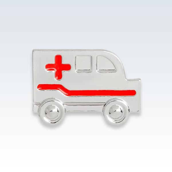 Paramedic Ambulance Lapel Pin