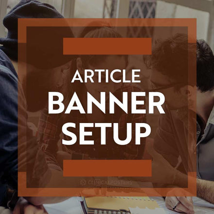 Article Banner Setup