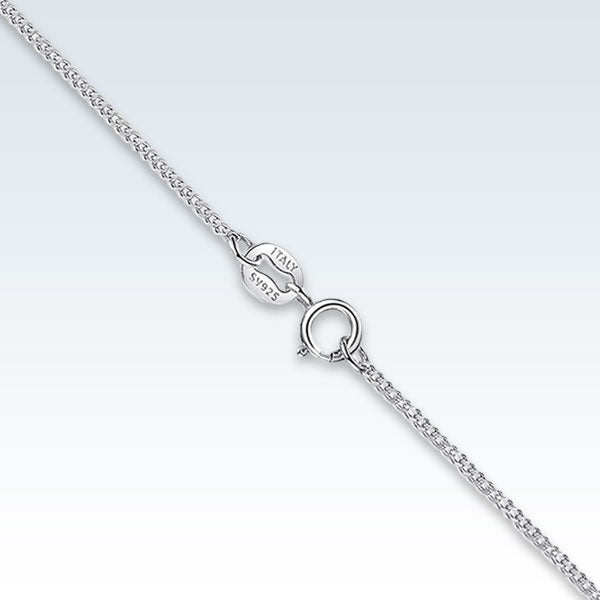 Sterling Silver Basic Thin Chain Clasp