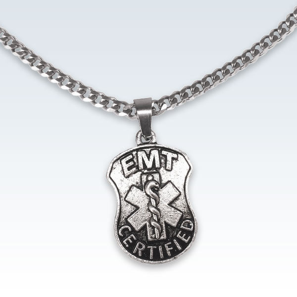 Emergency Medical Technician EMT Metal Pendant