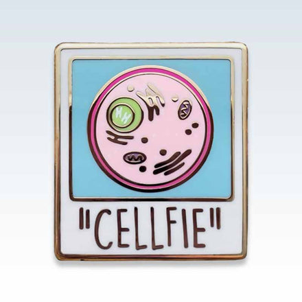 Cellfie Lapel Pin